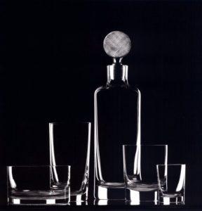 Adolf Loos, Servizio di cristalli, Lobmeyr, Vienna, 1931