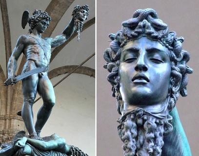 Benvenuto Cellini, Perseo, 1445-1554
