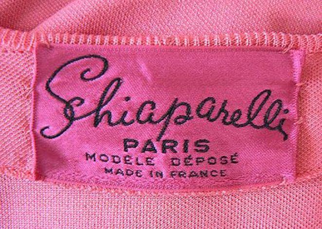 Elsa Schiaparelli, Etichetta Maison