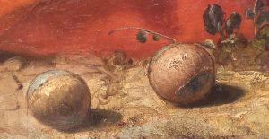 Giambattista Tiepolo, La morte di Giacinto, dettaglio, 1752-1753
