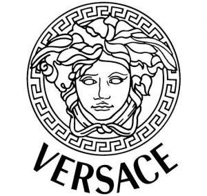 Logo della casa di moda Versace