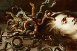 Pieter Paul Rubens, Medusa, dettaglio, 1618
