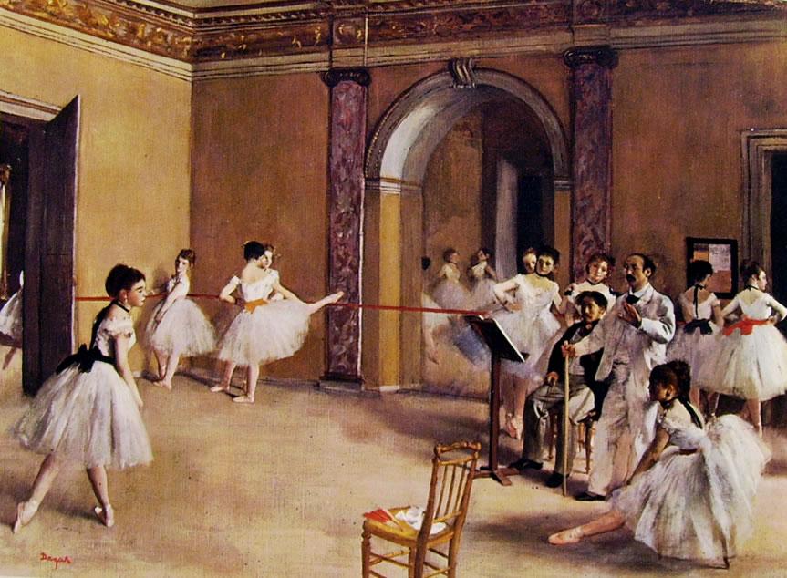 Edgar Degas, Scuola di danza dell'Opéra, 1872