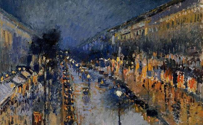 Camille Pissarro, Boulevard Montmartre, 1897