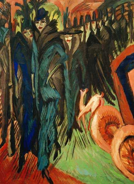 Ernst Ludwig Kirchner, Friedrichstrasse, 1914