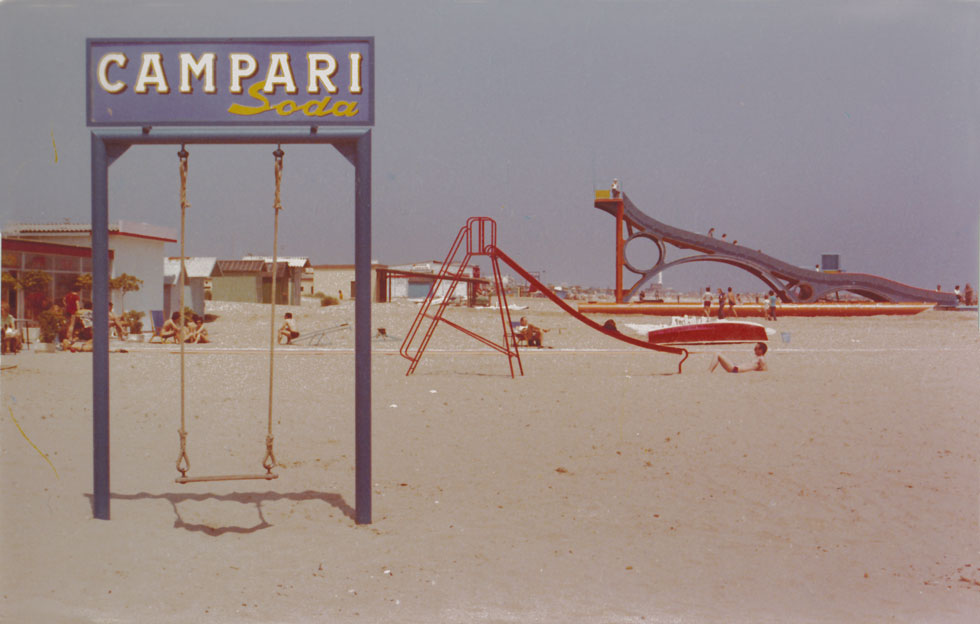 Luigi Ghirri, Marina di Ravenna, 1972