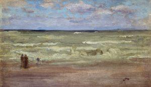 James Abbott McNeill Whistler, La spiaggia a Purville, 1889