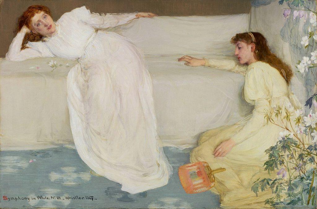 James Abbott McNeill Whistler, Sinfonia in bianco n.3, 1865-1867