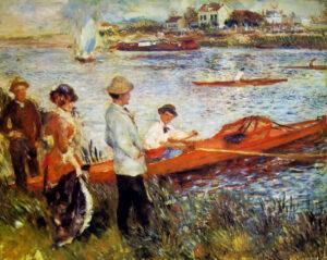Pierre-Auguste Renoir, Canottieri a Chatou, 1879