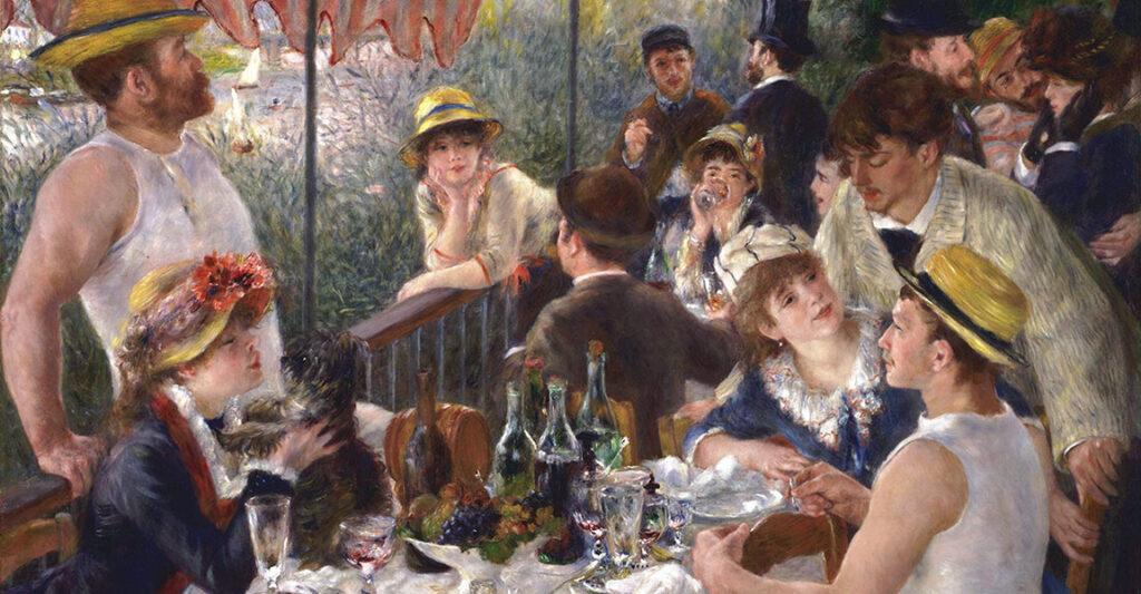 Pierre-Auguste Renoir, La colazione dei canottieri, 1881