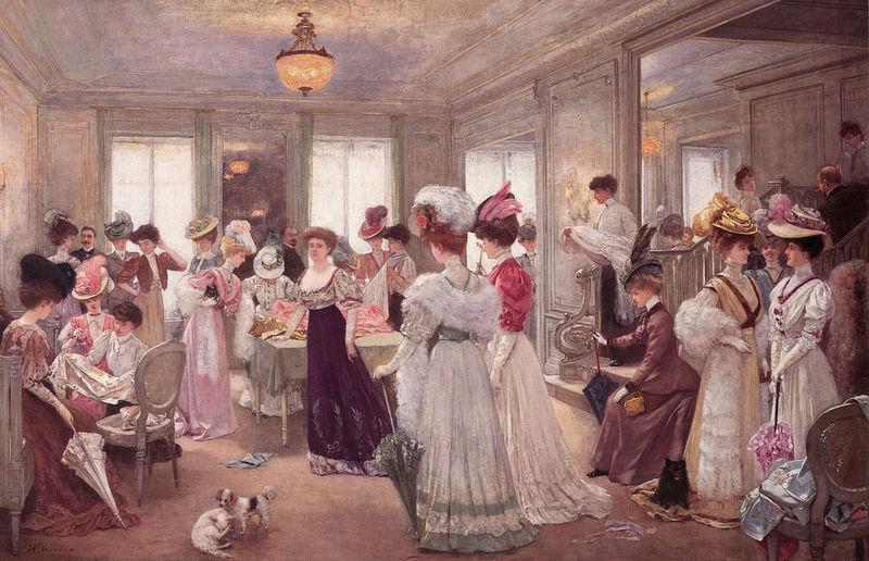 Henri Gervex, Alle cinque da Paquin, 1906