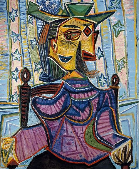 Pablo Picasso, Dora Maar in poltrona, 1939
