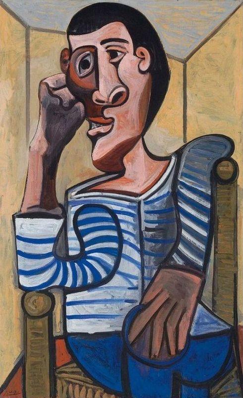 Pablo Picasso, Le Marin, 1943