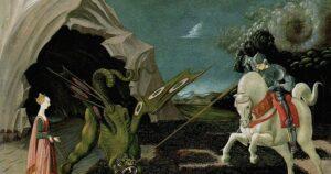 Paolo Uccello, San Giorgio e il Drago, 1460