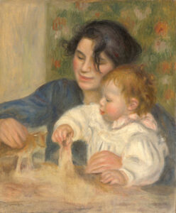Pierre-Auguste Renoi, Gabrielle e Jean Renoir, 1895