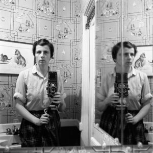 Vivian Maier, Autoritratto, 1955