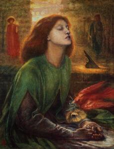 Dante Gabriel Rossetti, Beata Beatrix, 1864