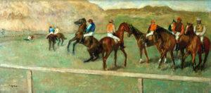 Edgar Degas, Cavalli da corsa