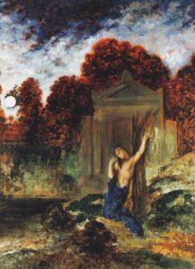 Gustave Moreau, Orfeo alla tomba di Euridice, 1891