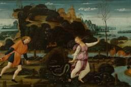 Jacopo del Sellaio, Orfeo ed Euridice, 1480