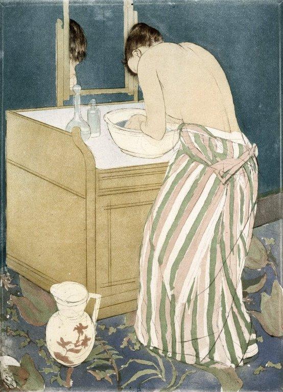 Mary Cassatt, La toilette, 1890-1891