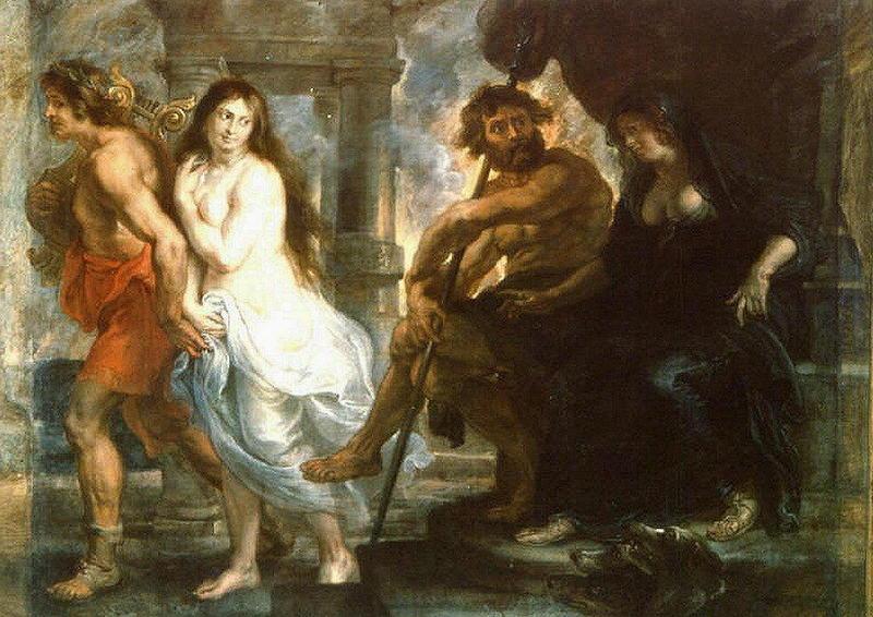 Pieter Paul Rubens, Orfeo ed Euridice, 1636