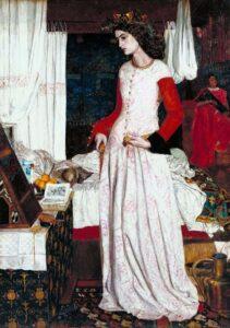 William Morris, La bella Isotta, 1858