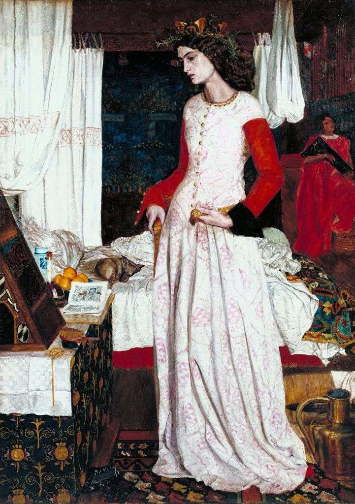 William Morris, La bella Isotta, 1858