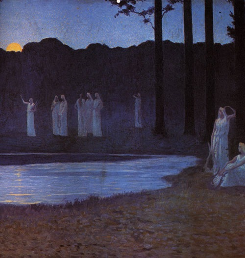 Alphonse Osbert, Canto della notte, 1896