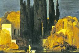 Arnold Böcklin,L'isola dei morti, 1880
