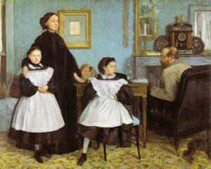 Edgar Degas, La famiglia Bellelli, 1858-1867