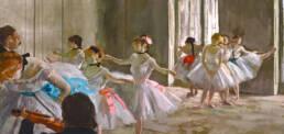 Edgar Degas, Lezione di prova, 1878-1879
