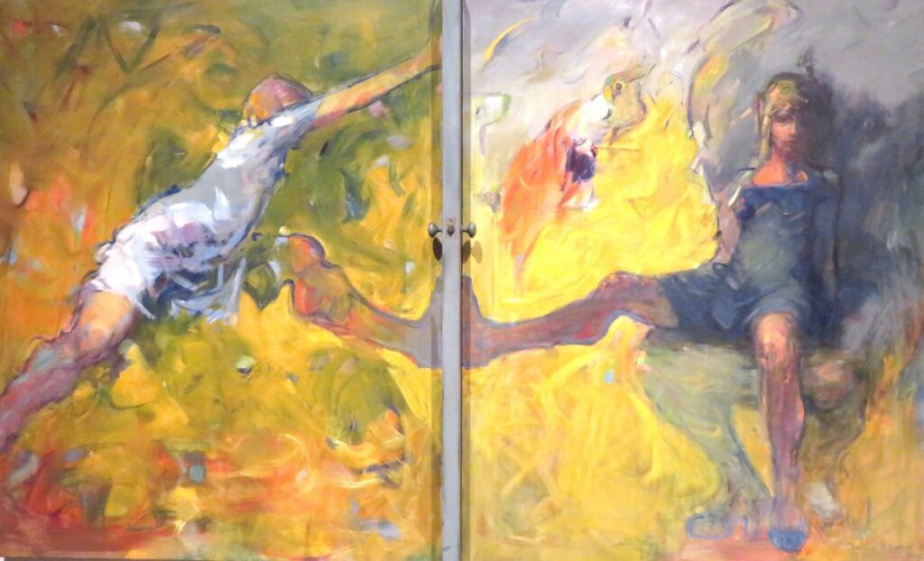 Dorothea Tanning, La porta, 1984