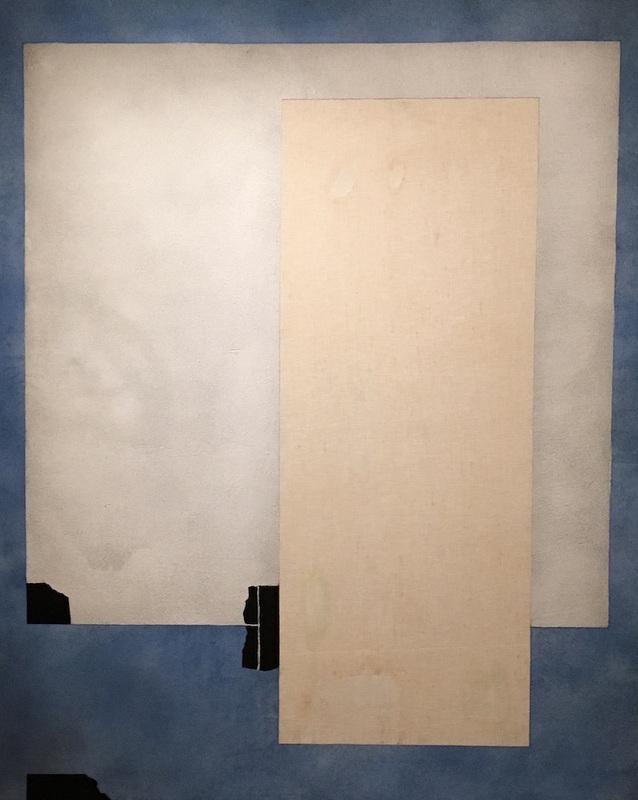 Giuseppe Santomaso, Lettera a Palladio n.6, 1977, Venezia, Collezione Peggy Guggenheim