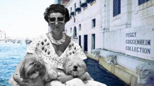 Peggy Guggenheim, copertina
