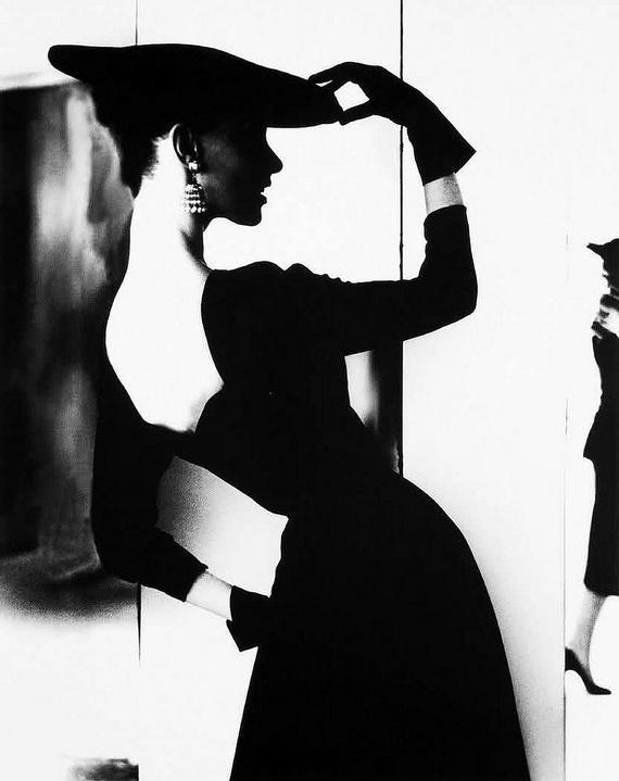 Lillian Bassman, Barbara Mullen, New York, 1958