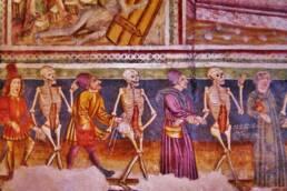 Danza Macabra, Chiesa della Santissima Trinità di Cristoglie, 1490